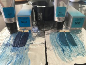 Kenra Color Blue and Teal Creative