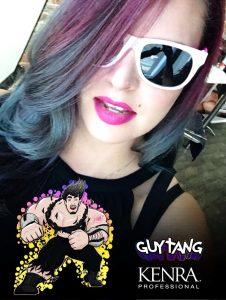 Guy Tang and Kenra Snapchat filter